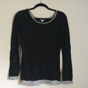 James Perse layered look long sleeve